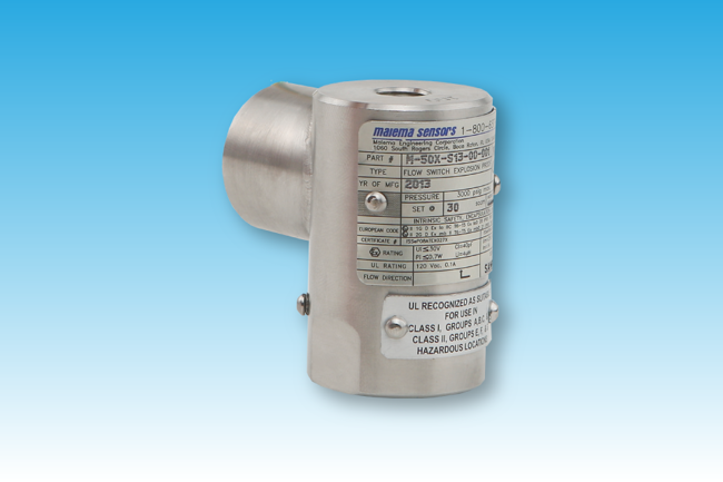 Picture of M-50X Series Ex-proof Fixed Set Point Flow Switches